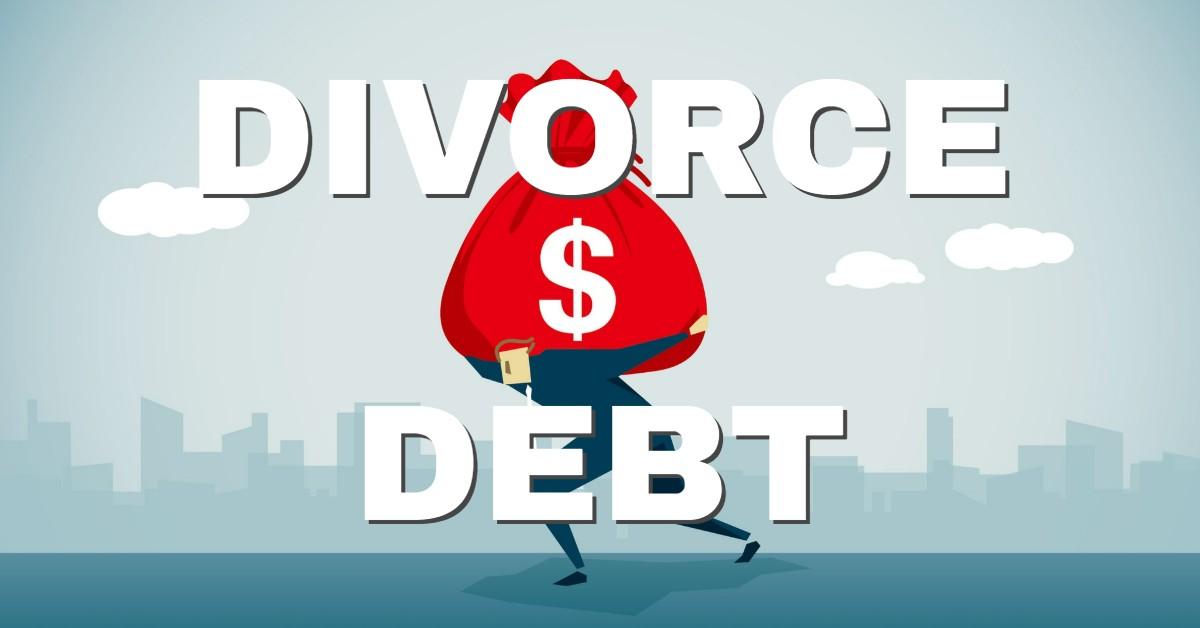divorce debt image